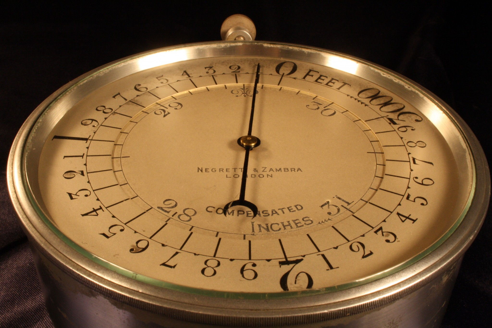 Image of Aircraft Altimeter by Negretti & Zambra c1911