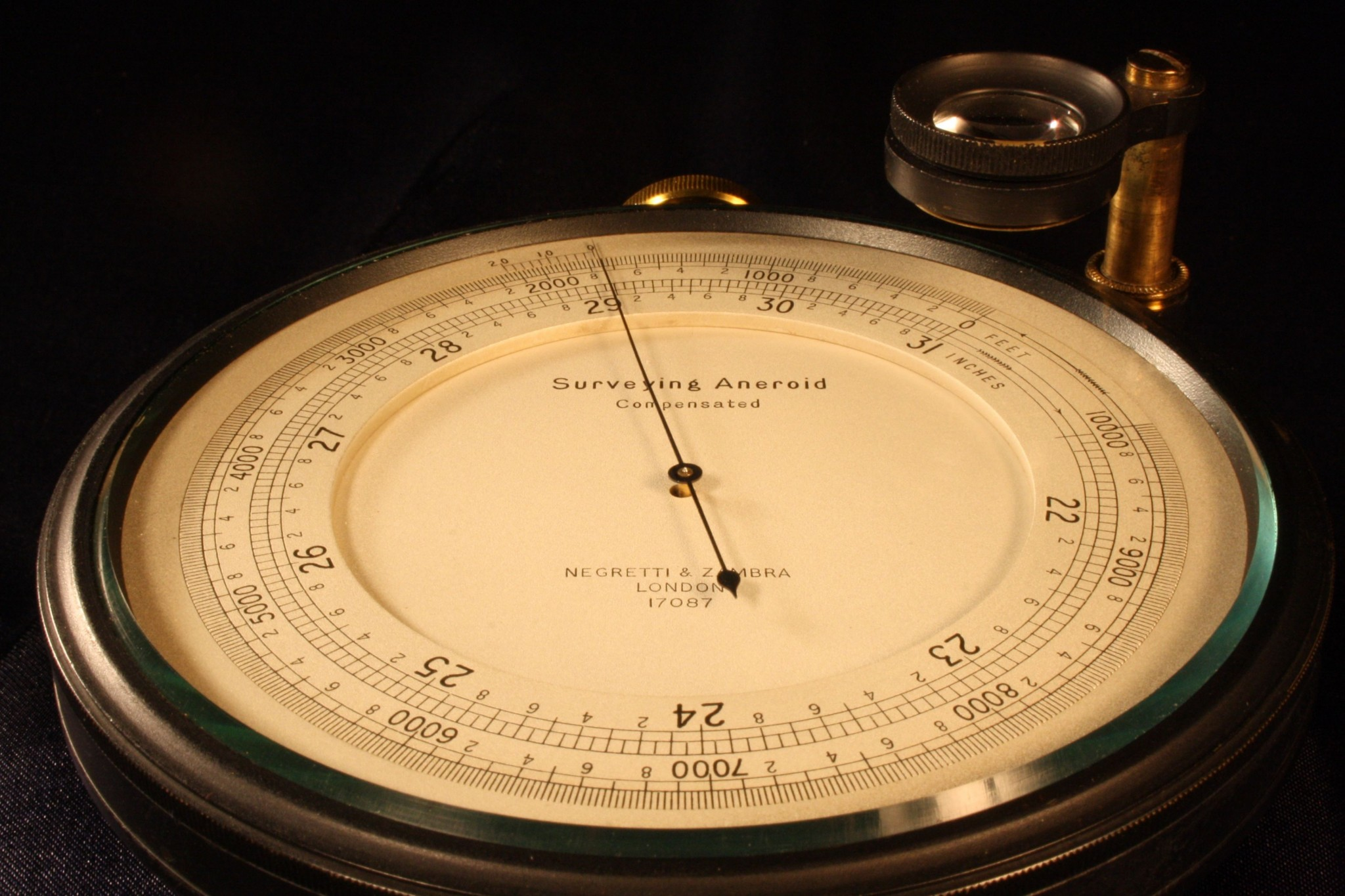 Image of Negretti & Zambra Surveying Barometer