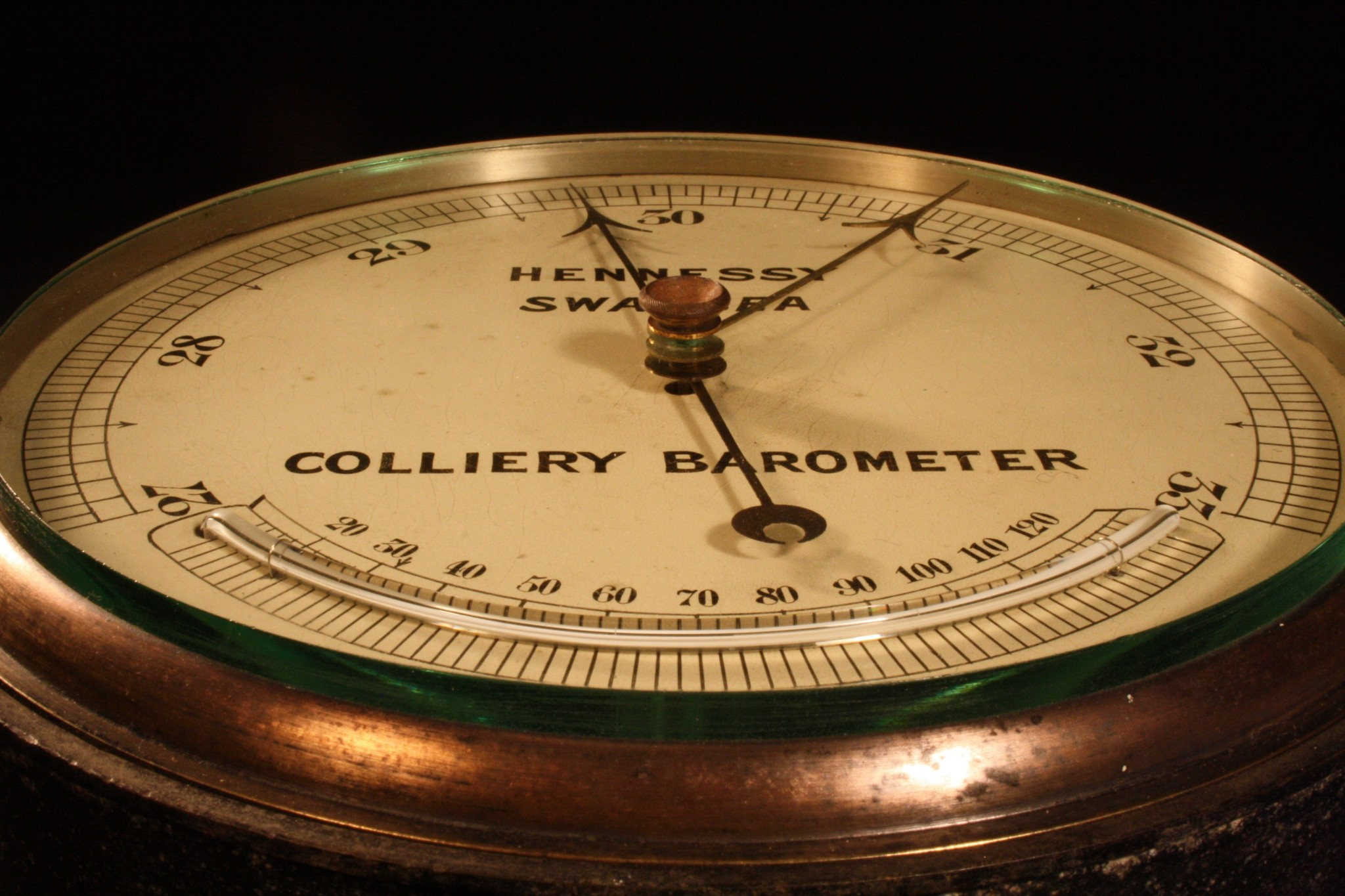 Image of Colliery Barometer by Hennessy