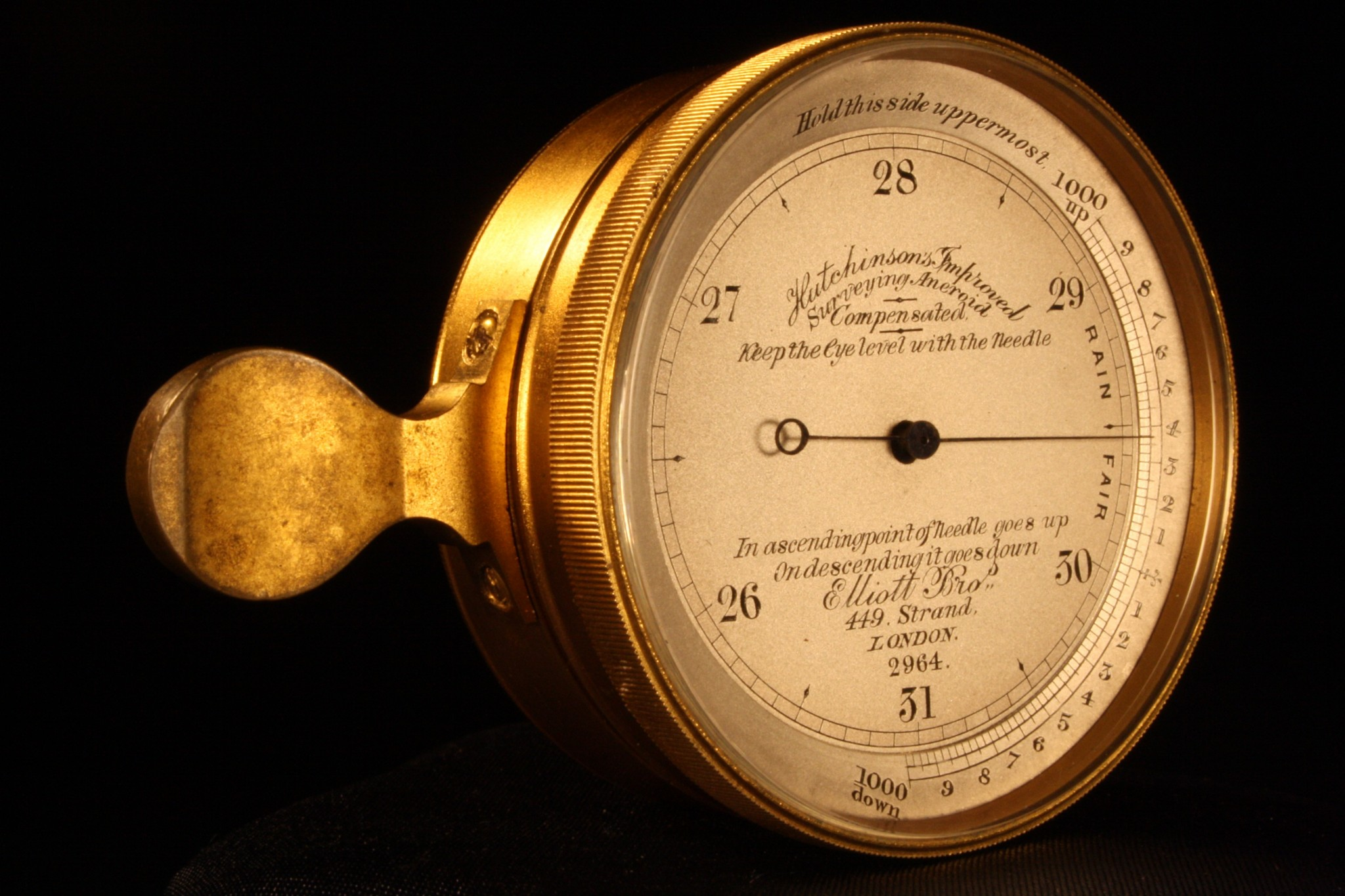 Image of Surveying Elliott Pocket Barometer