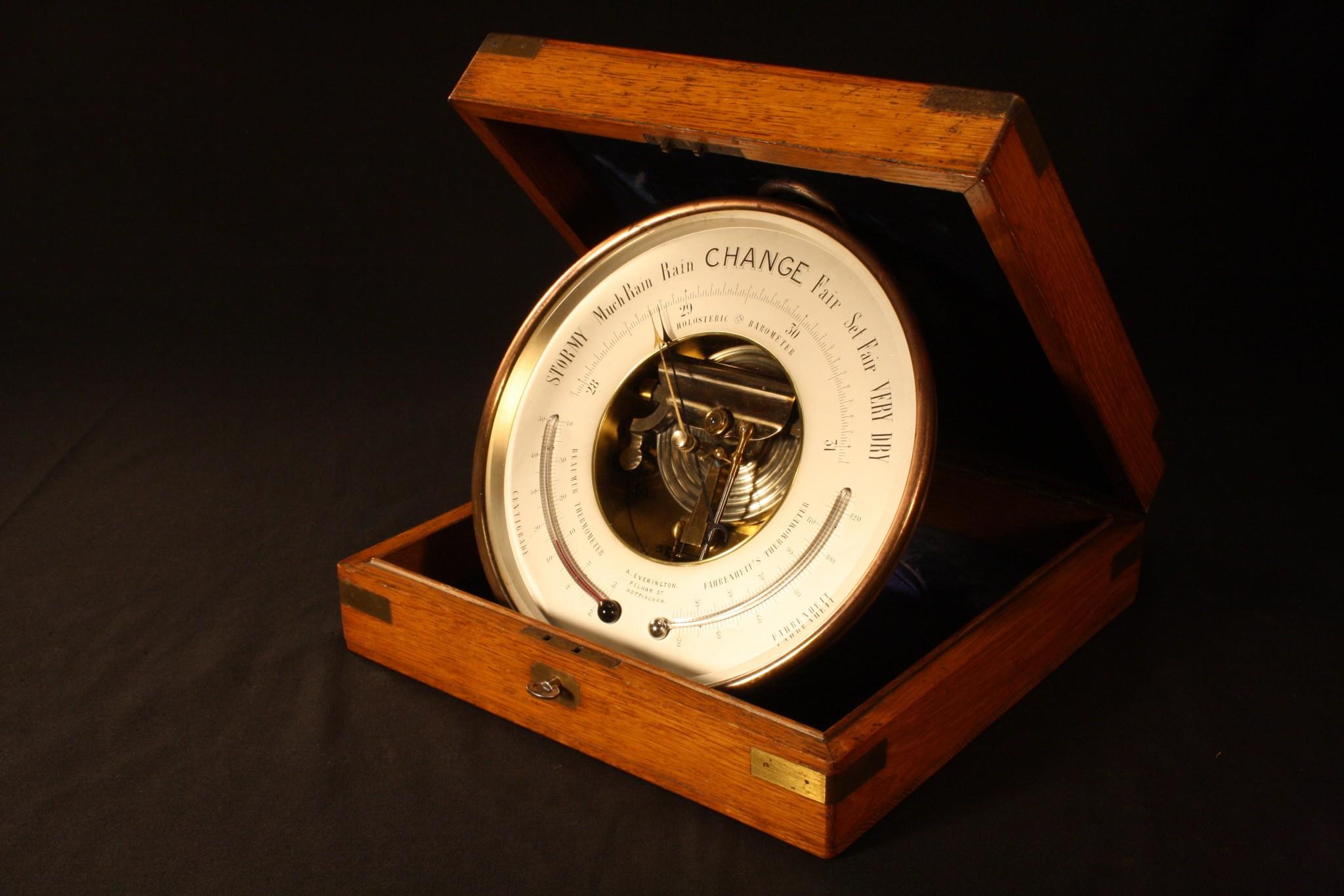 Image of Naudet Presentation Barometer
