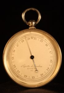 Image of Negretti & Zambra Pocket Barometer No 575