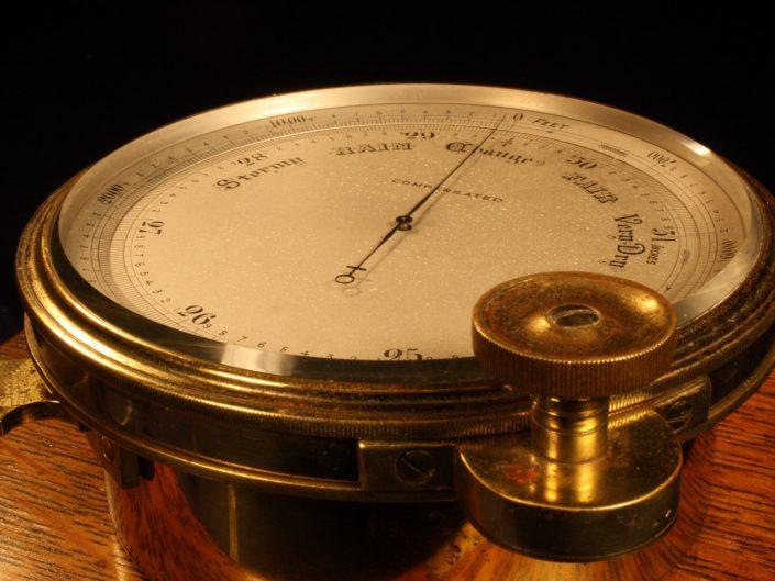 SCIENTIFIC BAROMETER BY SHORT & MASON c1875 - Sold