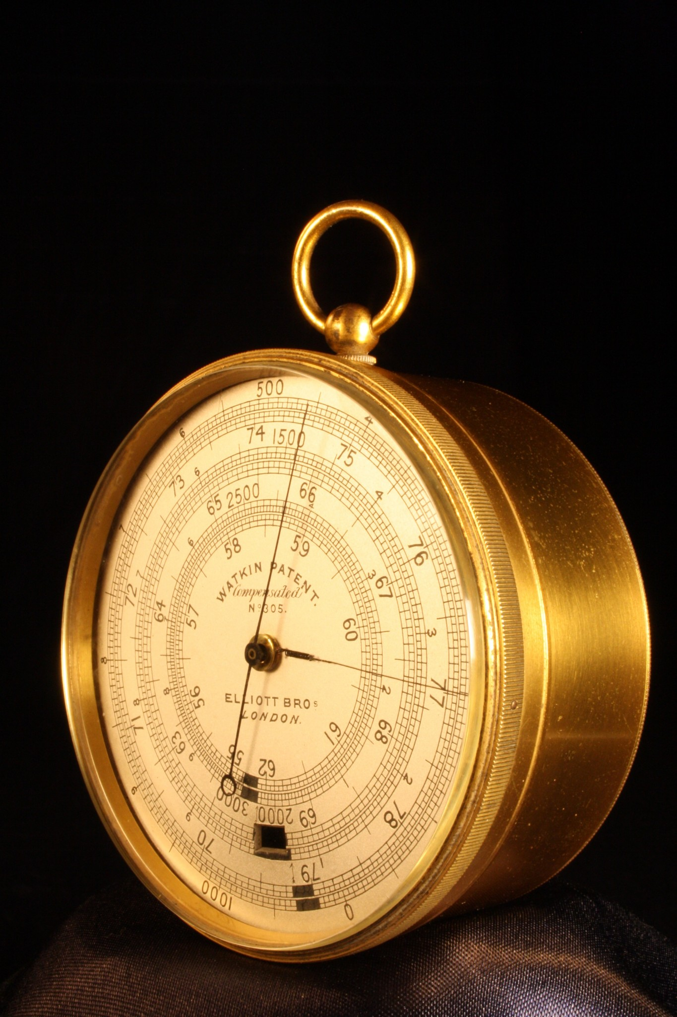 Image of Watkin Patent Altimeter by Hicks No 305