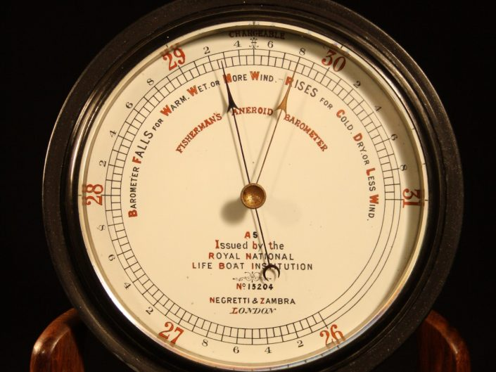 FISHERMANS MARINE BAROMETER BY NEGRETTI & ZAMBRA - Sold