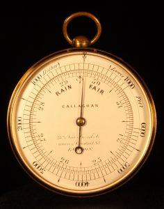 Image of Callaghan Mountain Barometer Altimeter