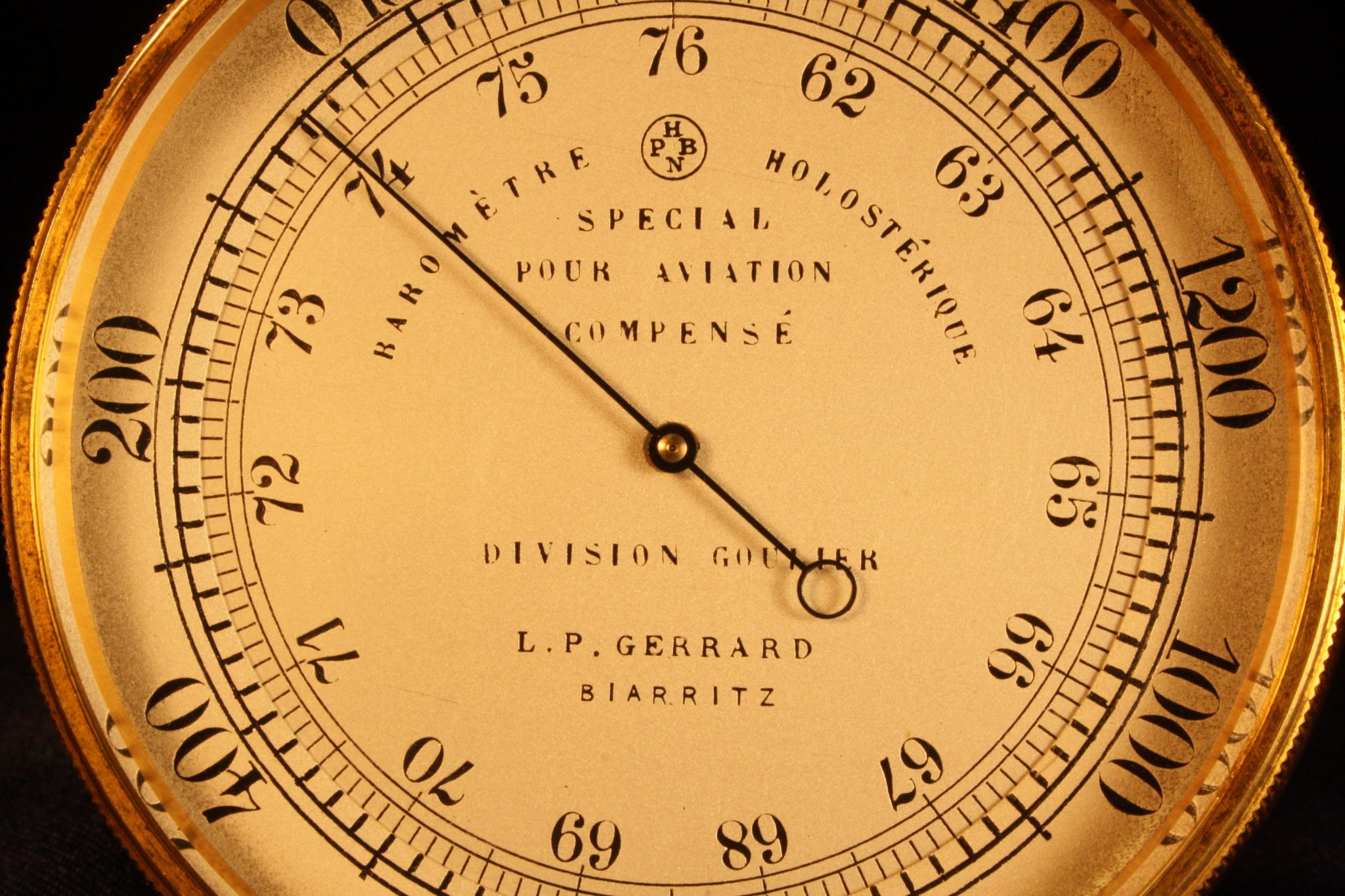 Image of Goulier Aviation Altimeter by Naudet