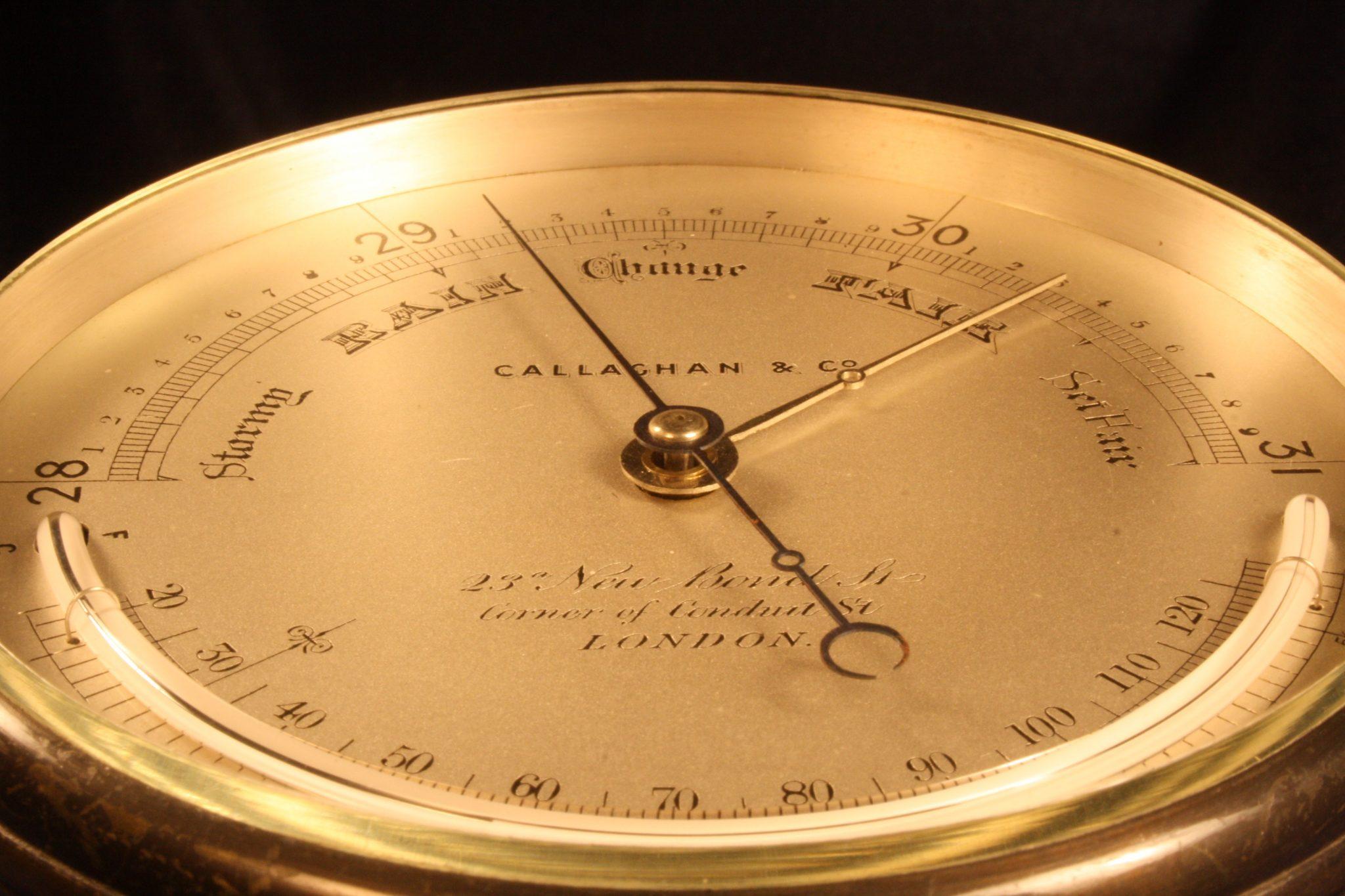 Image of Callaghan Barometer No 5993