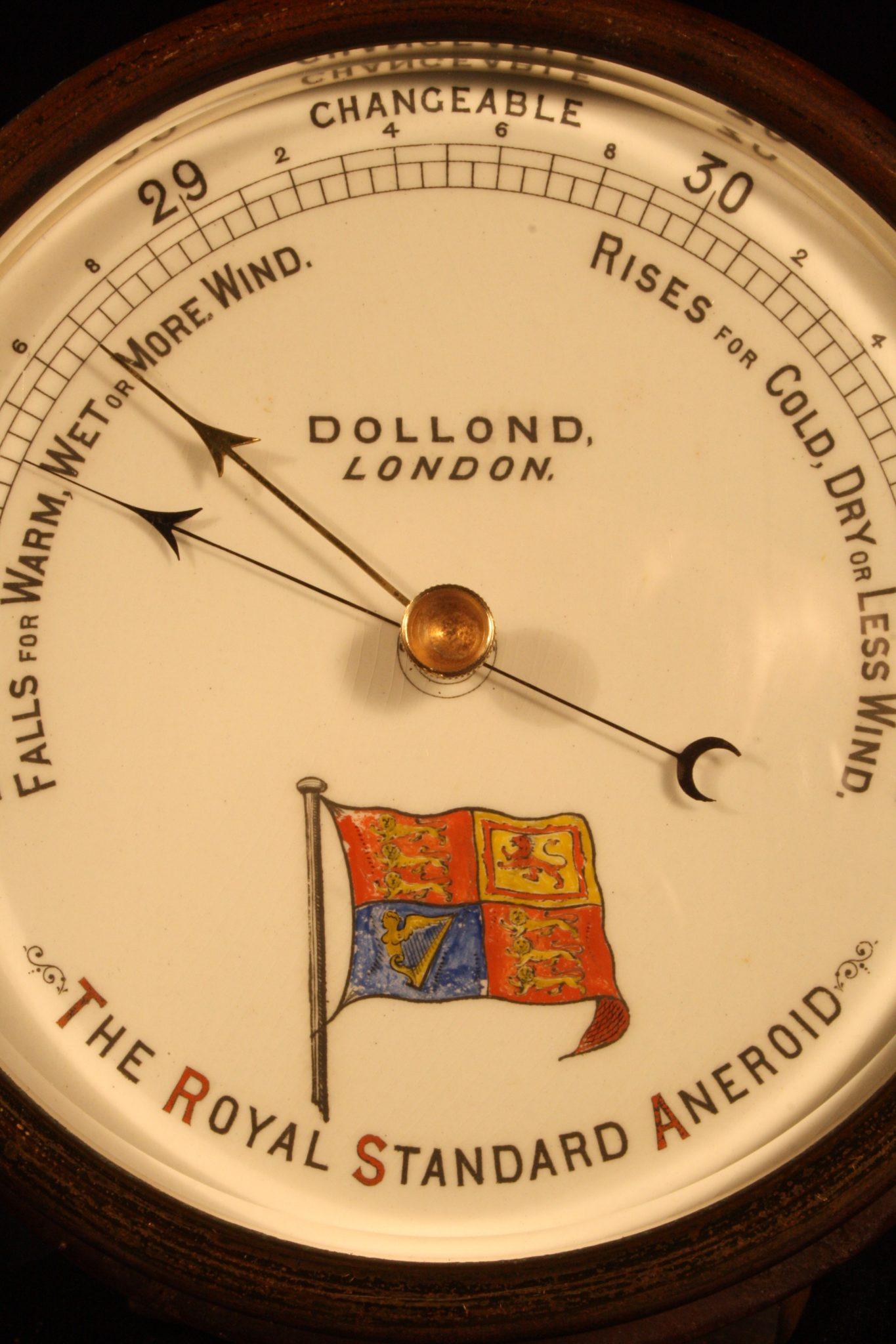 Image of Dollond Royal Standard Marine Barometer