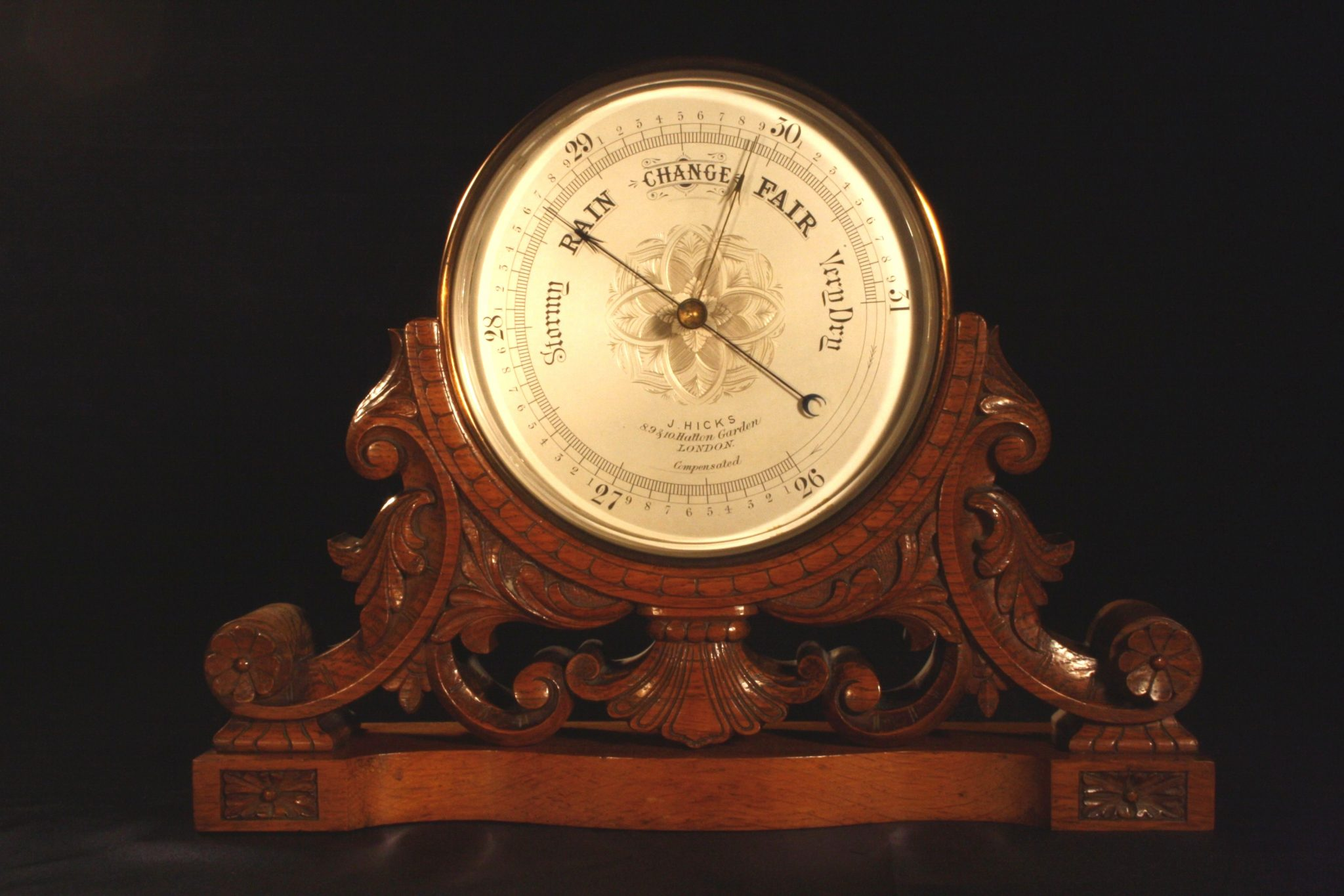 Image of Large Mantle Barometer by Hicks