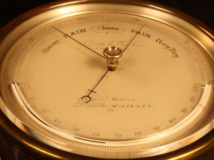 EARLY BAROMETER BY NEGRETTI & ZAMBRA No 711 c1858