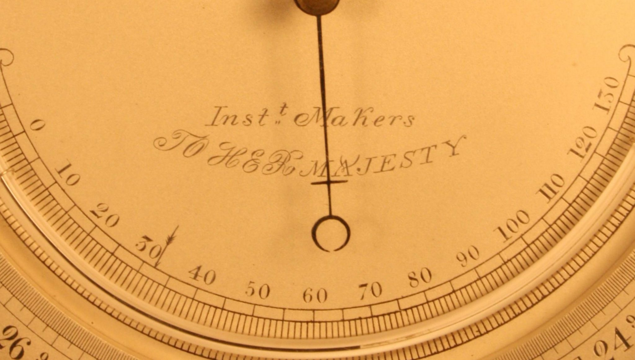 Image of Negretti & Zambra Barometer No 750 c1858