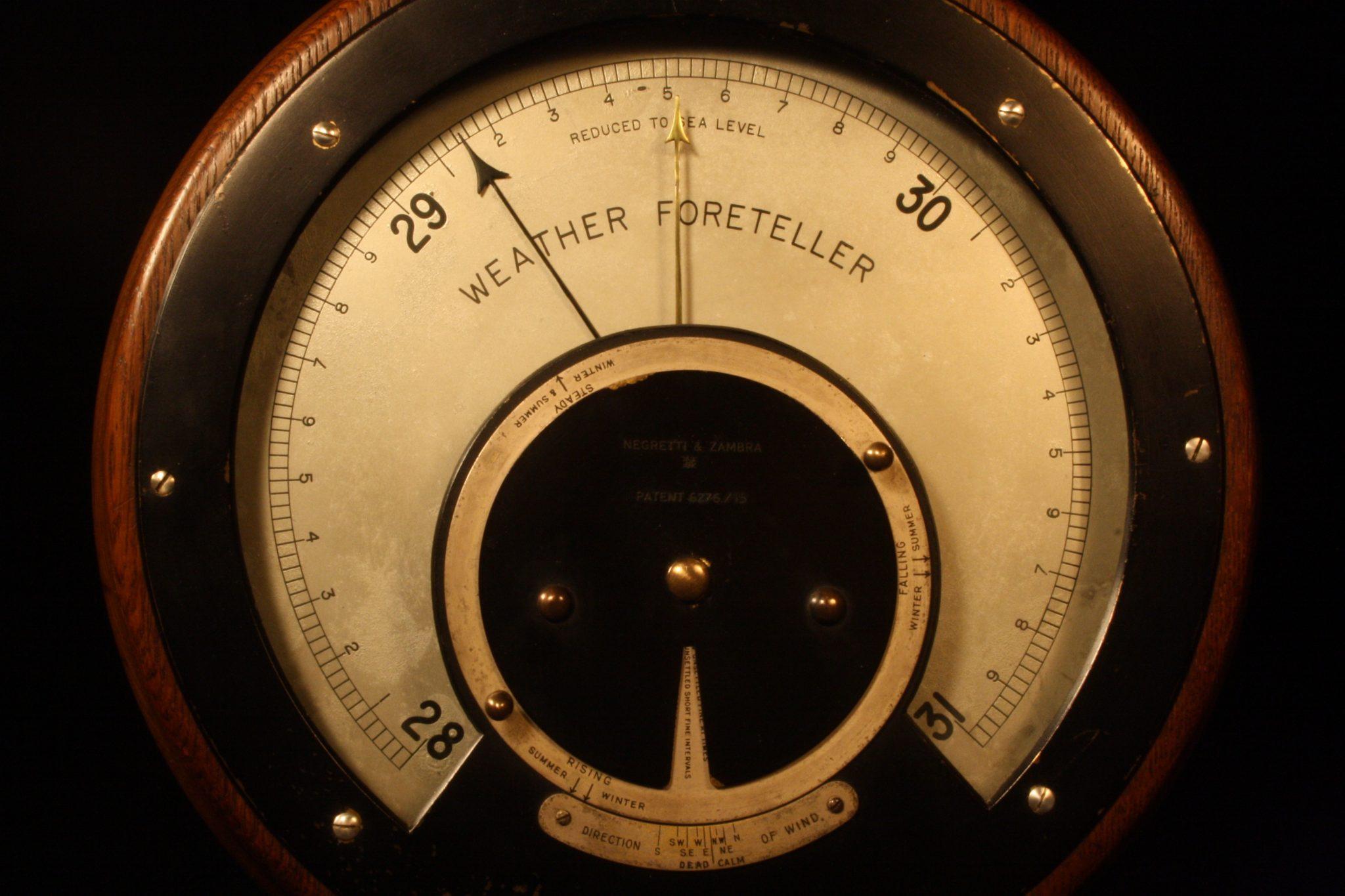 Image of Negretti & Zambra Weather Foreteller