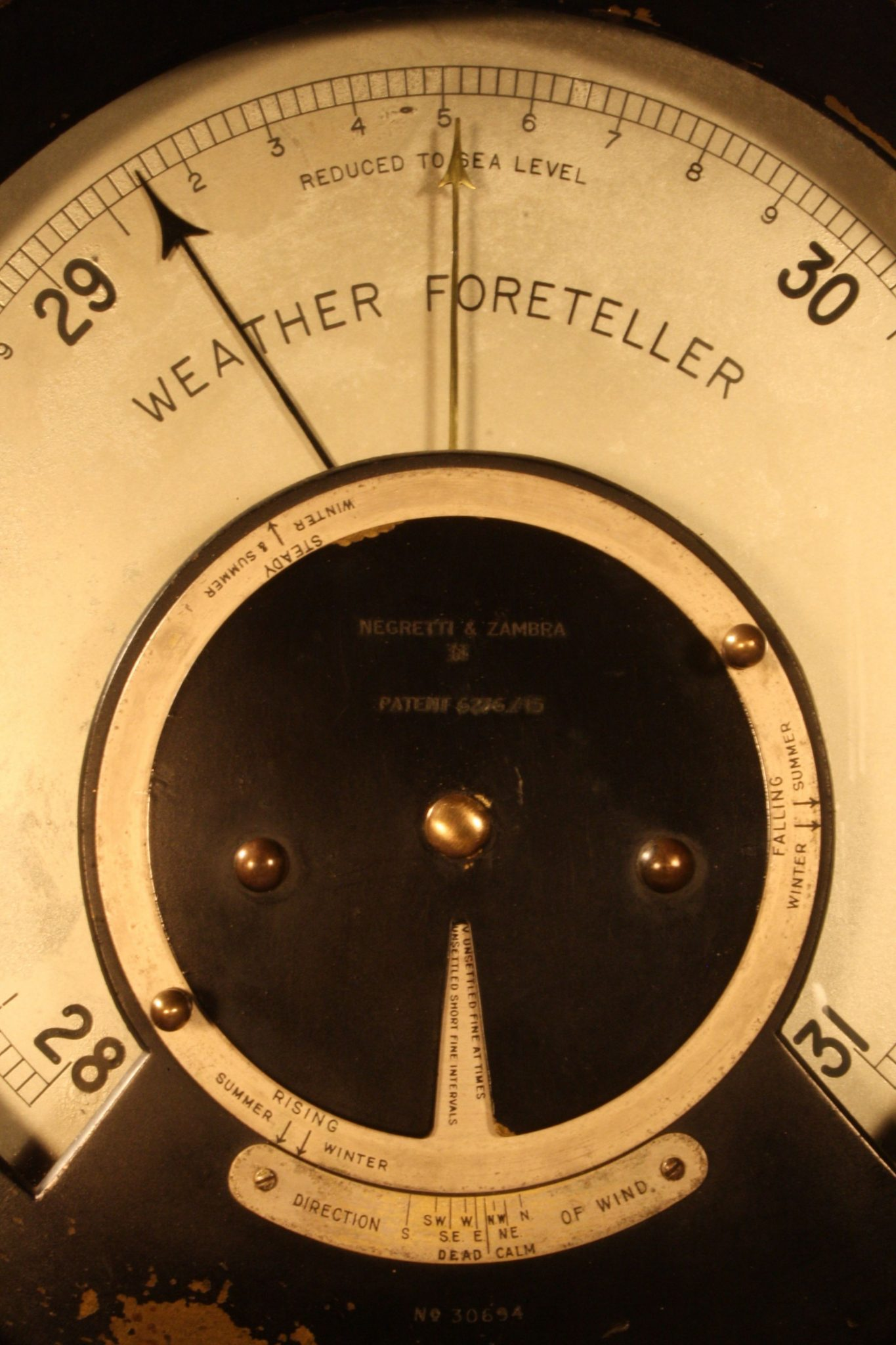 Image of Negretti & Zambra Weather Foreteller
