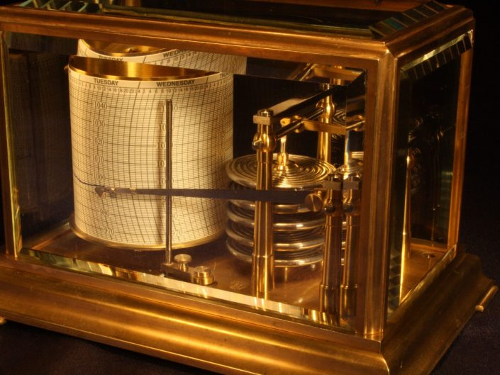 MINIATURE BAROGRAPH BY RICHARD FRERES c1890