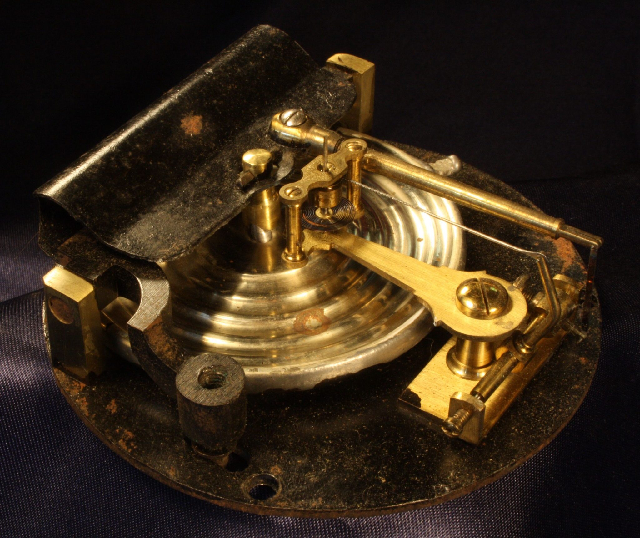 Image of Ships Wheel Barometer by Betjemann