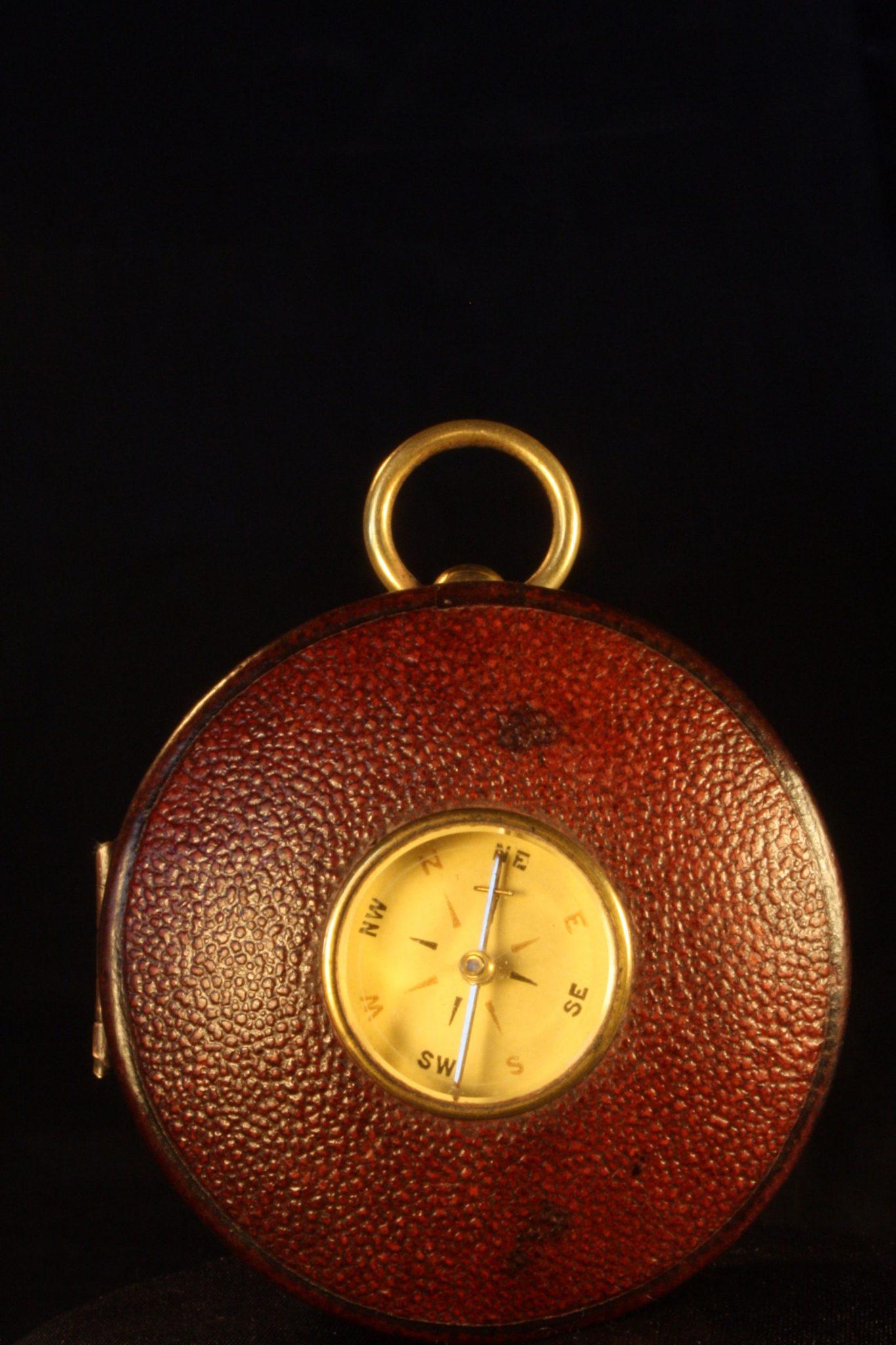 Image of Pocket Barometer Thermometer Compass Compendium by Negretti & Zambra