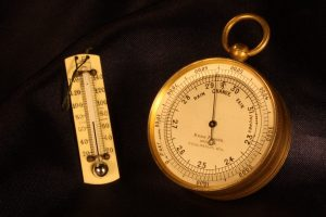 Image of Pocket Barometer Thermometer Compass Compendium by Short & Mason