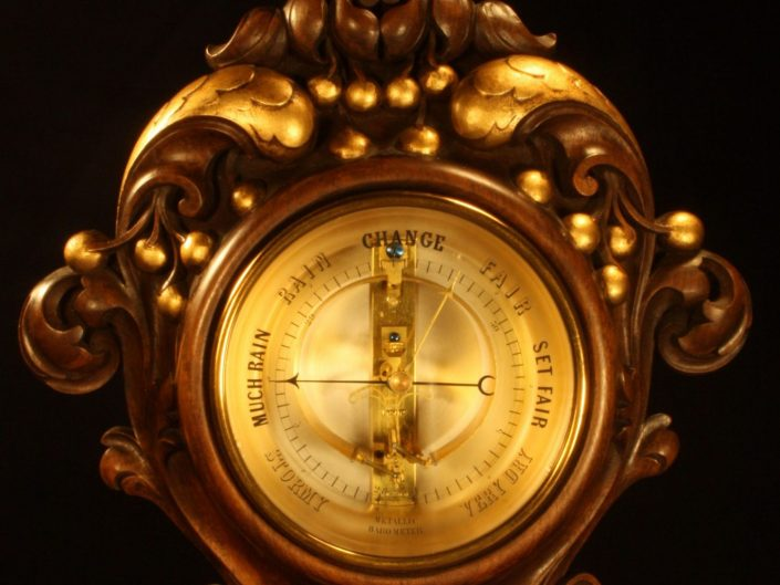 BOURDON BAROMETER BY JULES RICHARD c1890