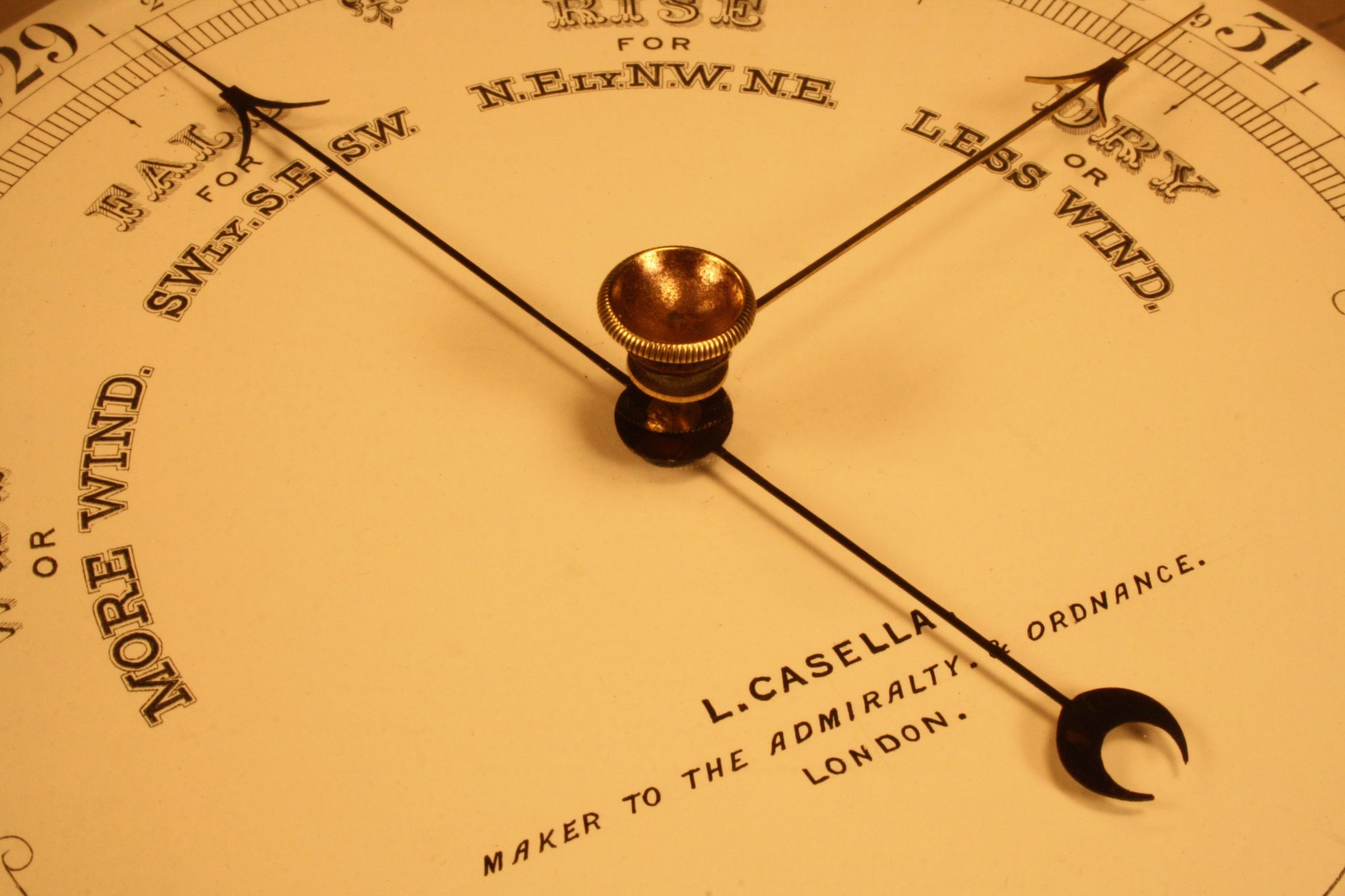 Image of Casella Marine Barometer c1900