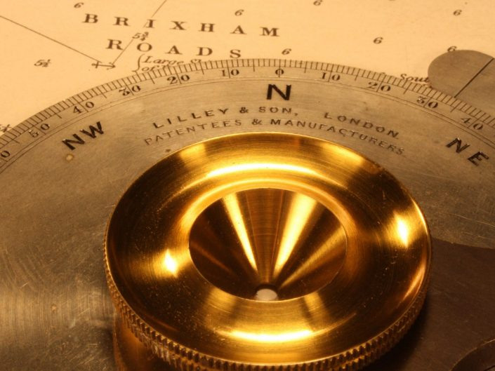 CHART COURSE INDICATOR BY LILLEY & SON No 111 c1883