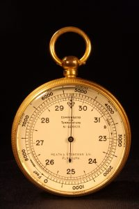 Image of Short & Mason Pocket Barometer Retailed by Heath & Stoneman