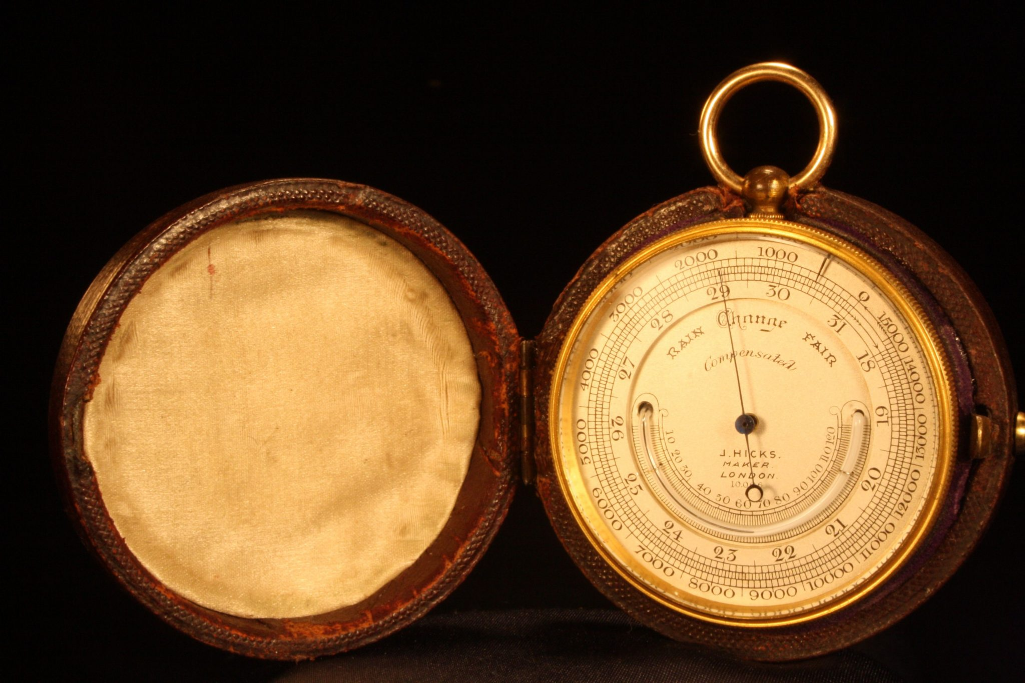 Image of Hicks Pocket Barometer Compendium No 10006