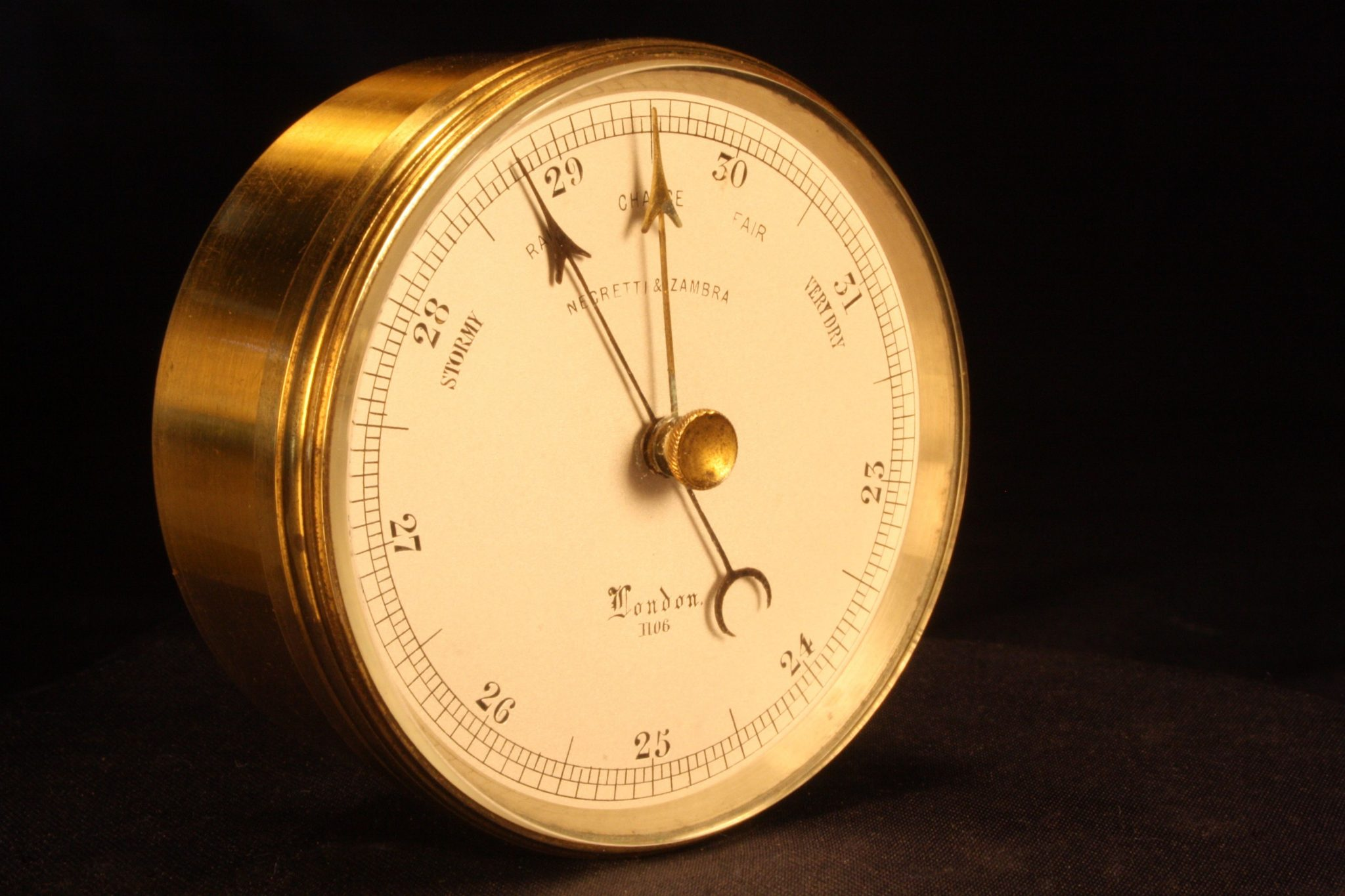 Image of Negretti & Zambra Pocket Barometer No 1106