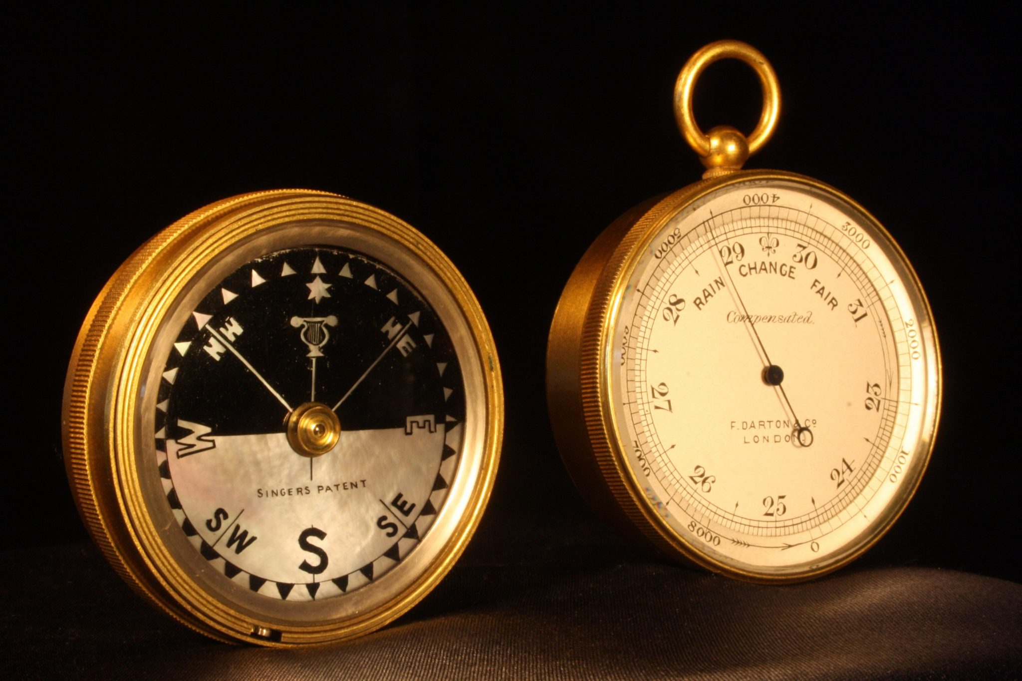 Image of Darton Pocket Barometer Compass Compendium