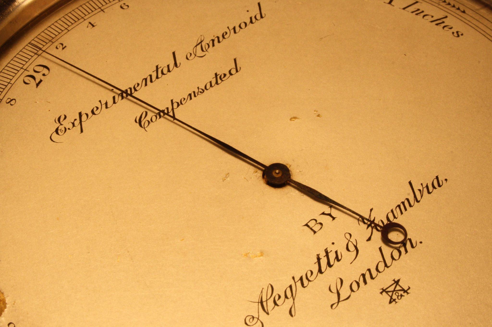 Image of Experimental Aneroid Barometer by Negretti & Zambra c1920
