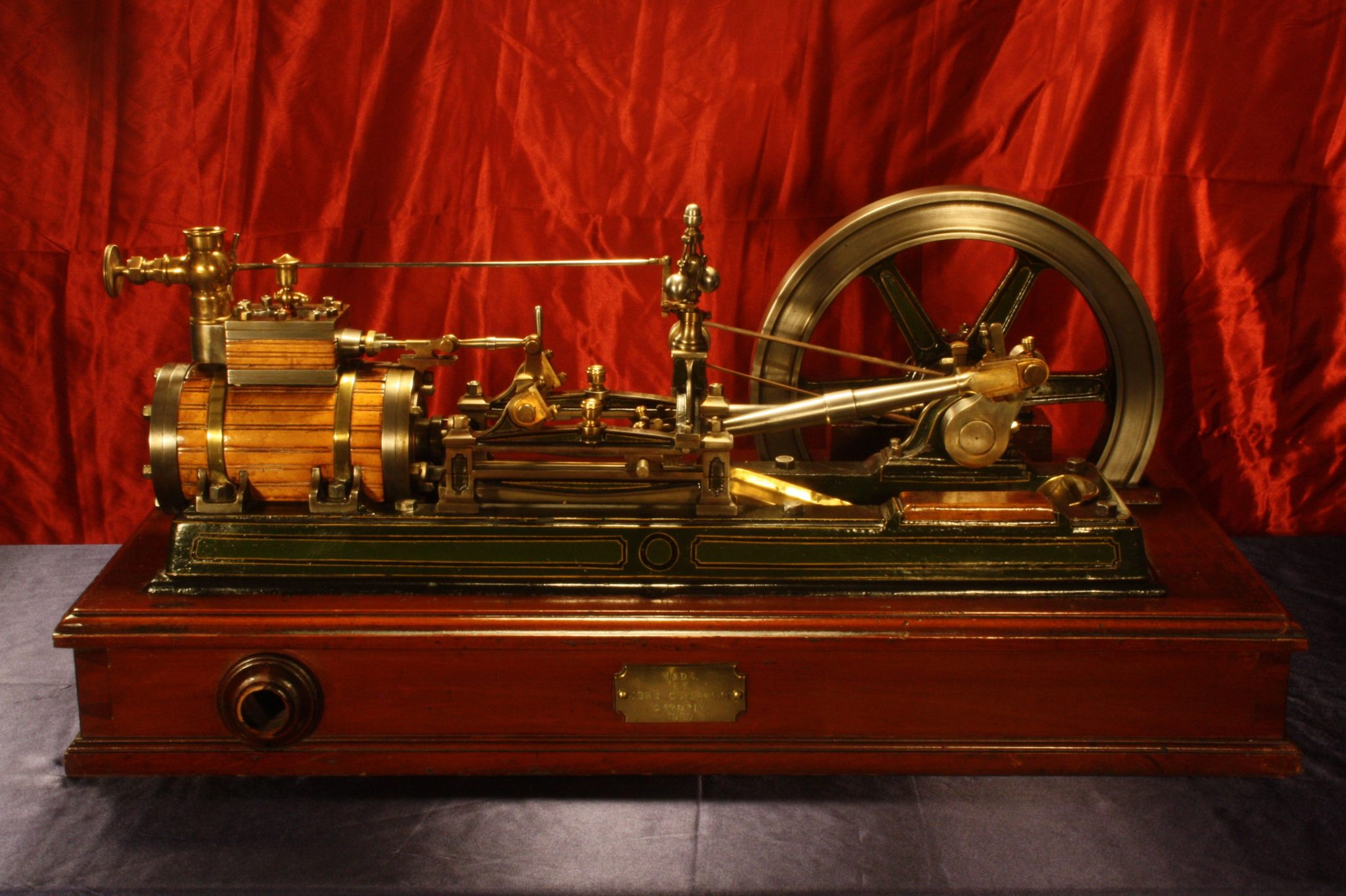 Image of Victorian Model Steam Engine