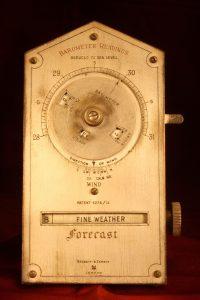 Image of Negretti & Zambra Desk Weather Forecaster c1915