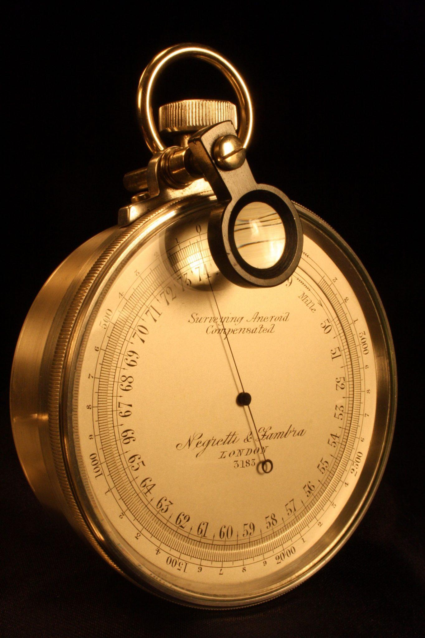 Image of Negretti & Zambra Surveying Barometer No 3183