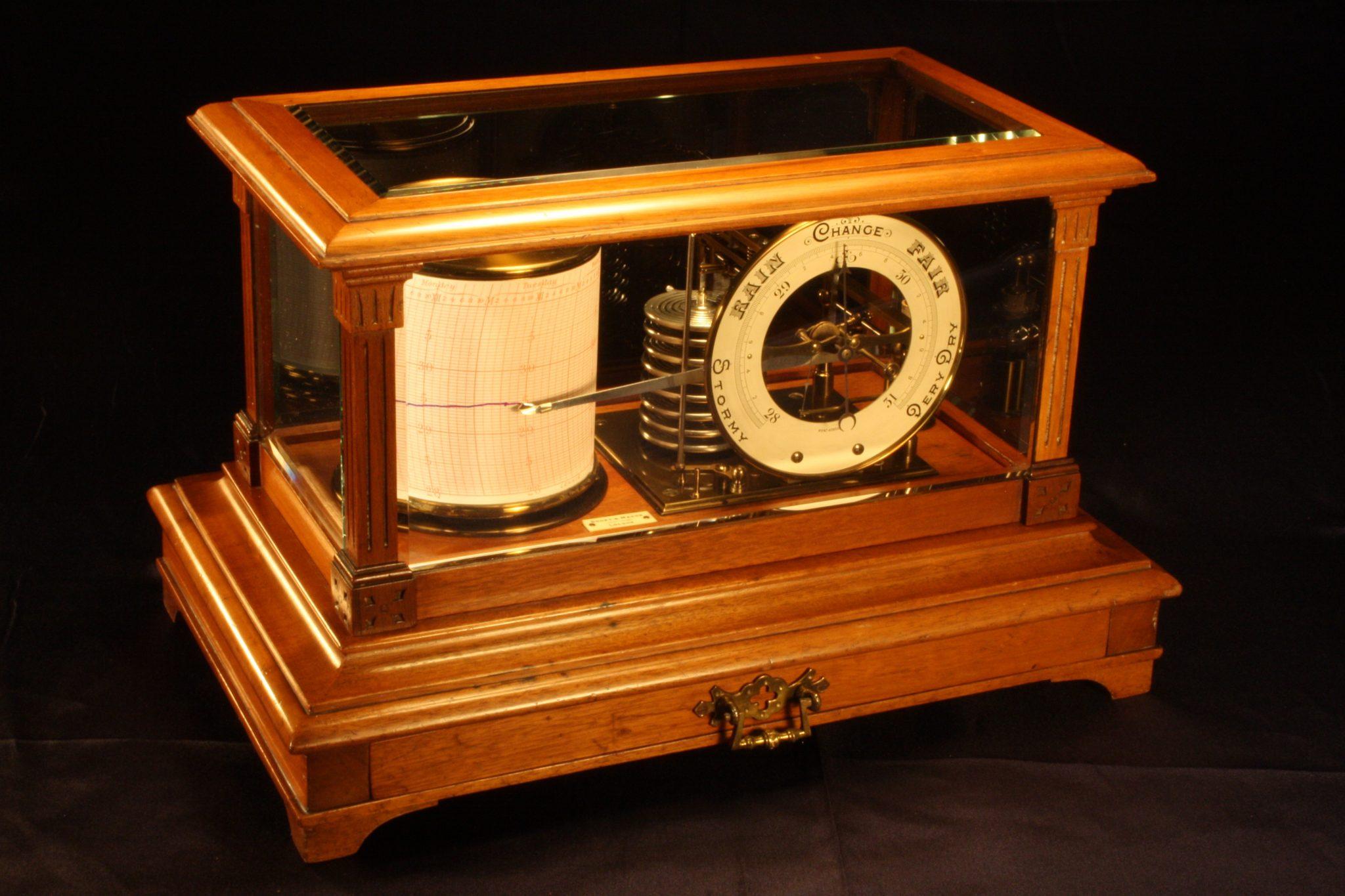 Image of Short & Mason Barograph & Barometer