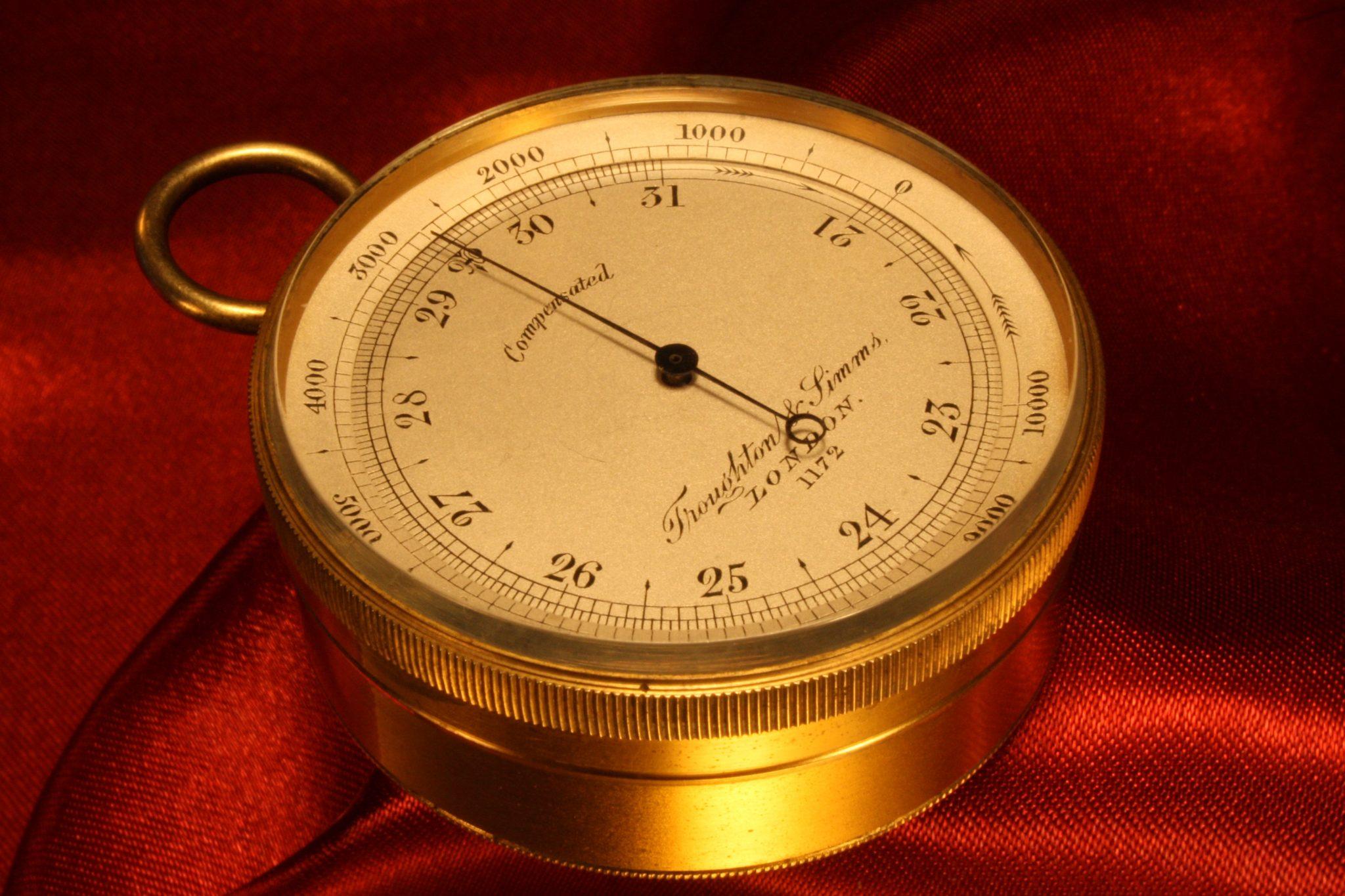 Image of Troughton & Simms Pocket Barometer No 1172