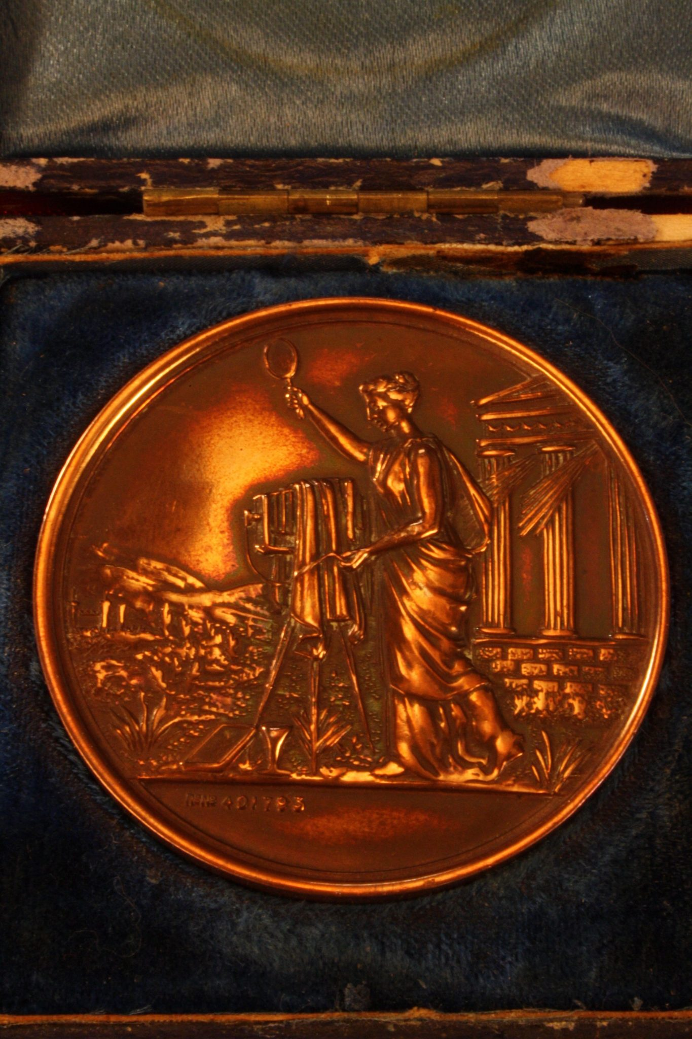 Image of Victorian Model Steam Engine Medals