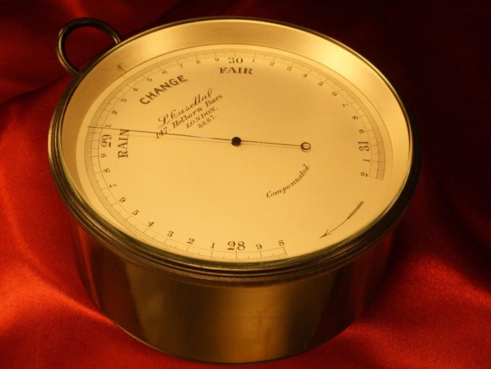 METEOROLOGICAL BAROMETER BY CASELLA No 8887 c1902 - Sold