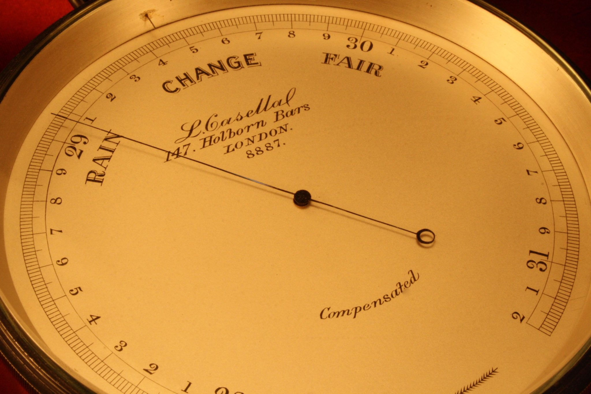 Image of Aneroid Barometer by Casella