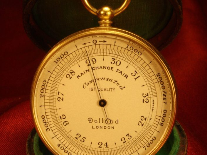 POCKET BAROMETER BY DOLLOND c1930