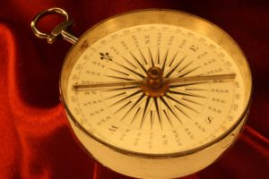 Image of Dollond Silver Compass c1786