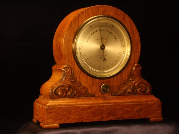 DRAWING ROOM BAROMETER BY PILLISCHER c1864