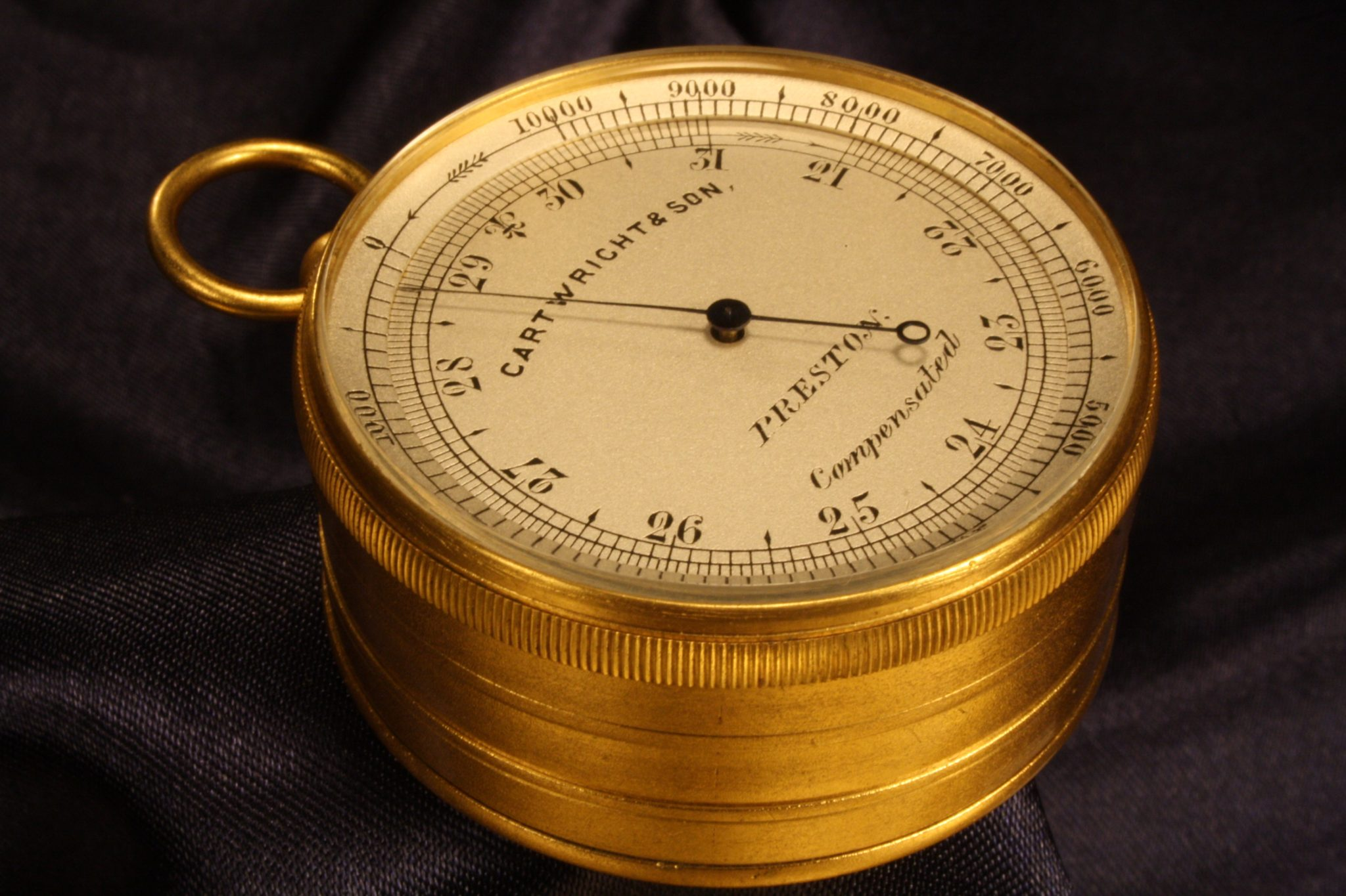 Image of Pocket Barometer Compendium by Cartwright c1920