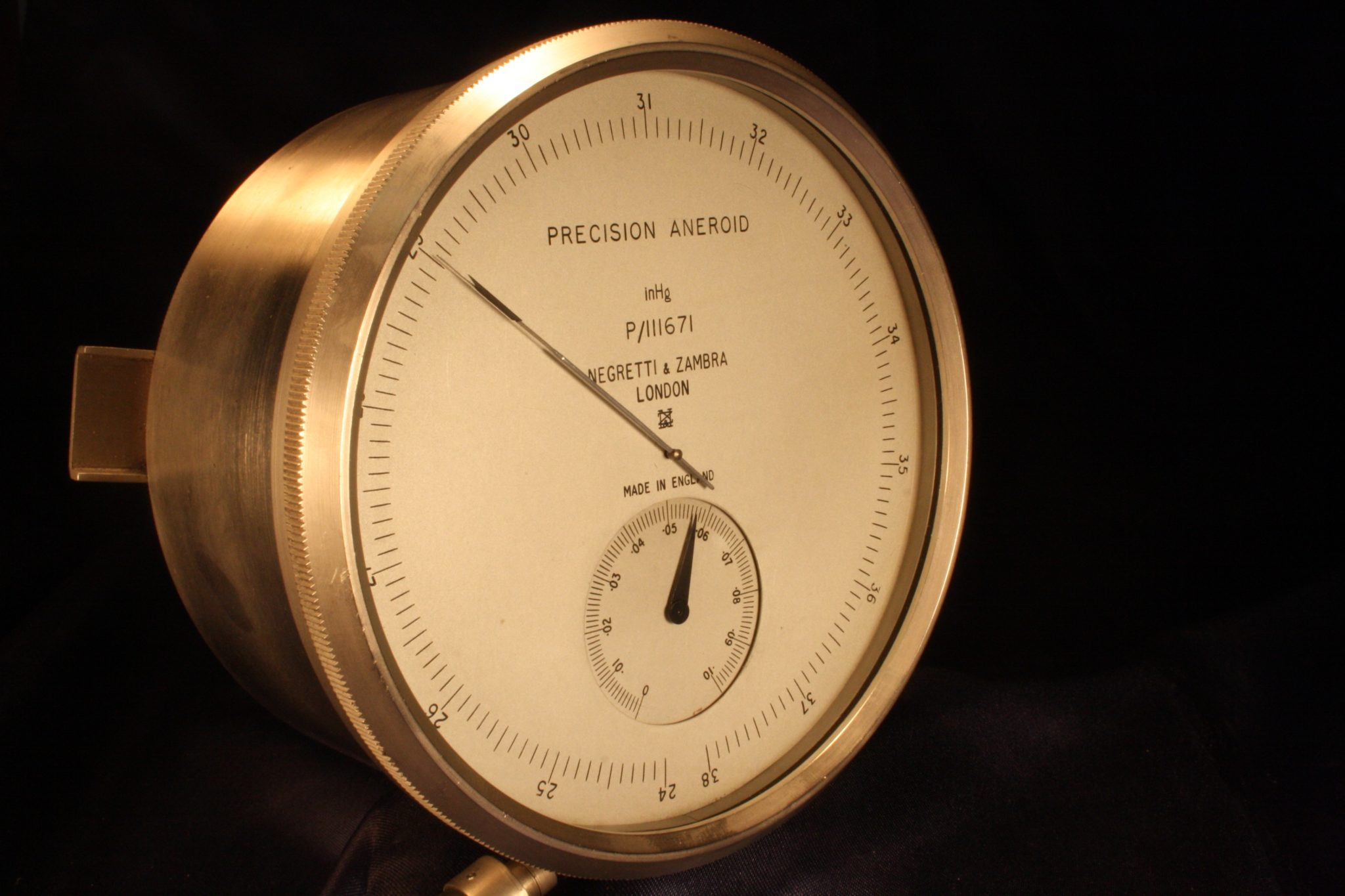 Image of Negretti & Zambra Precision Aneroid Surveying Barometer P/111671