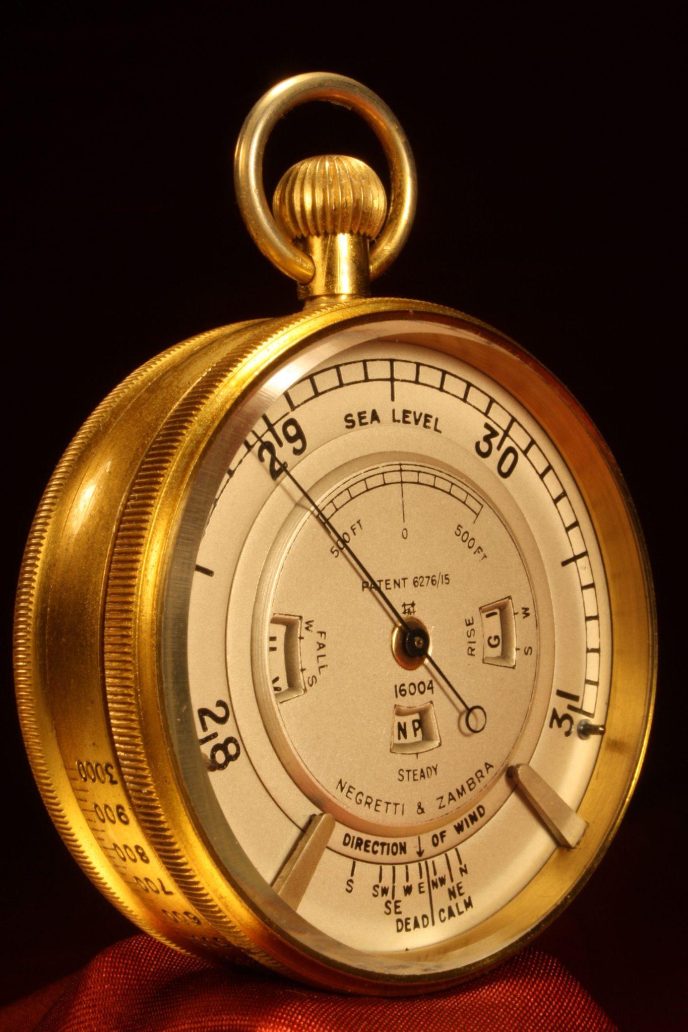 Image of Negretti & Zambra Weather Watch No 16004