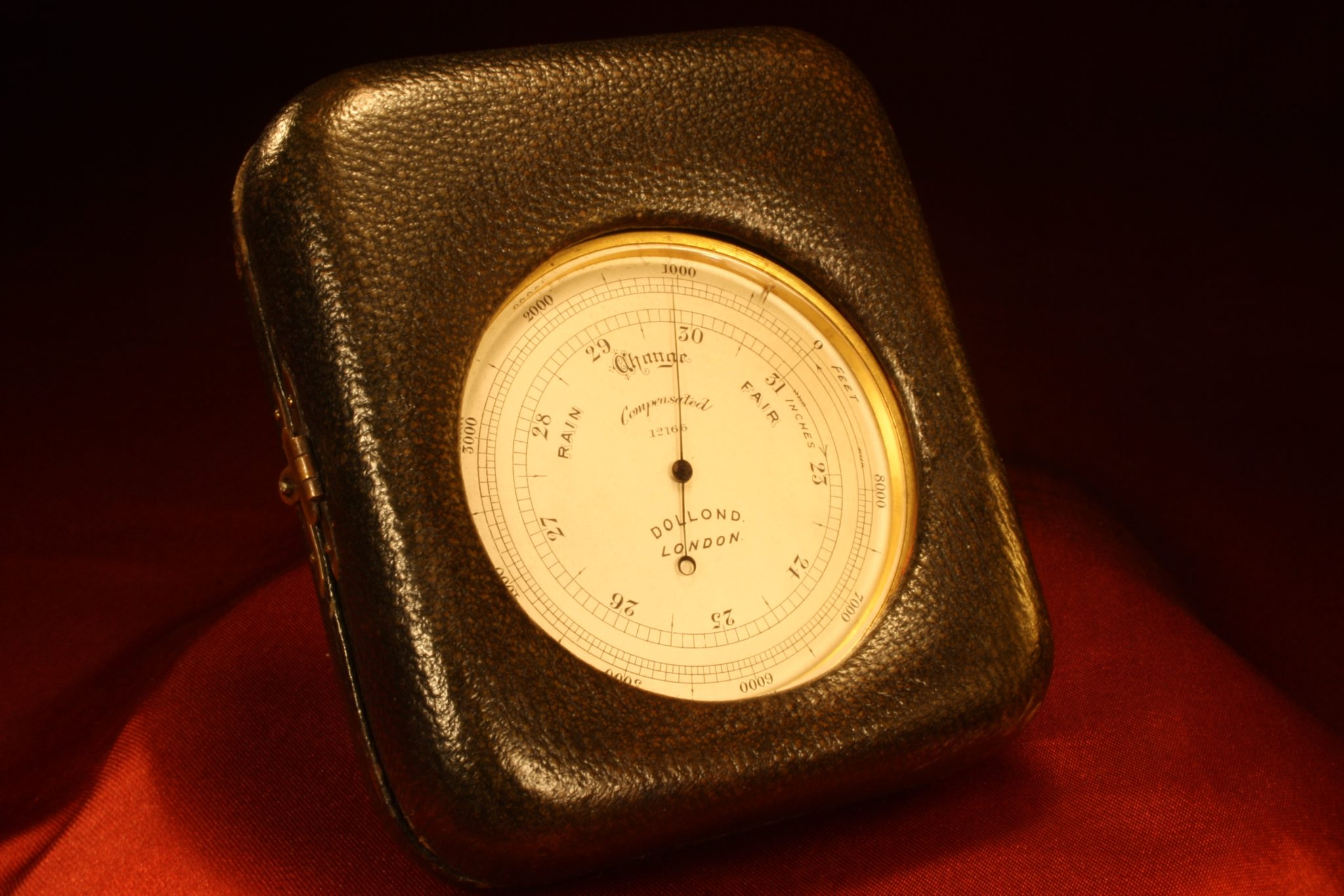 Image of Dollond Pocket Barometer No 12166 c1910