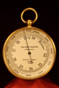 Image of Negretti & Zambra Pocket Barometer No 18516