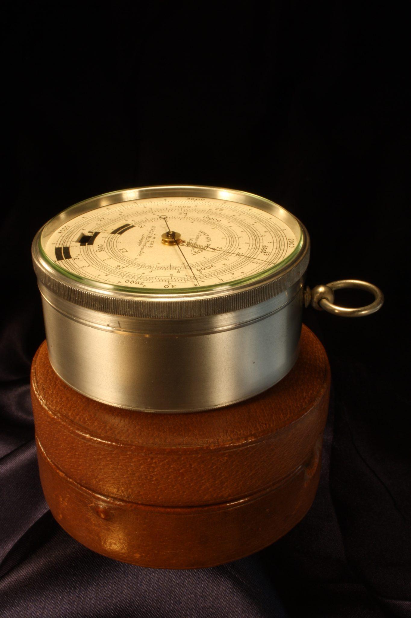 Image of Watkin Patent Hicks Pocket Barometer No 1012