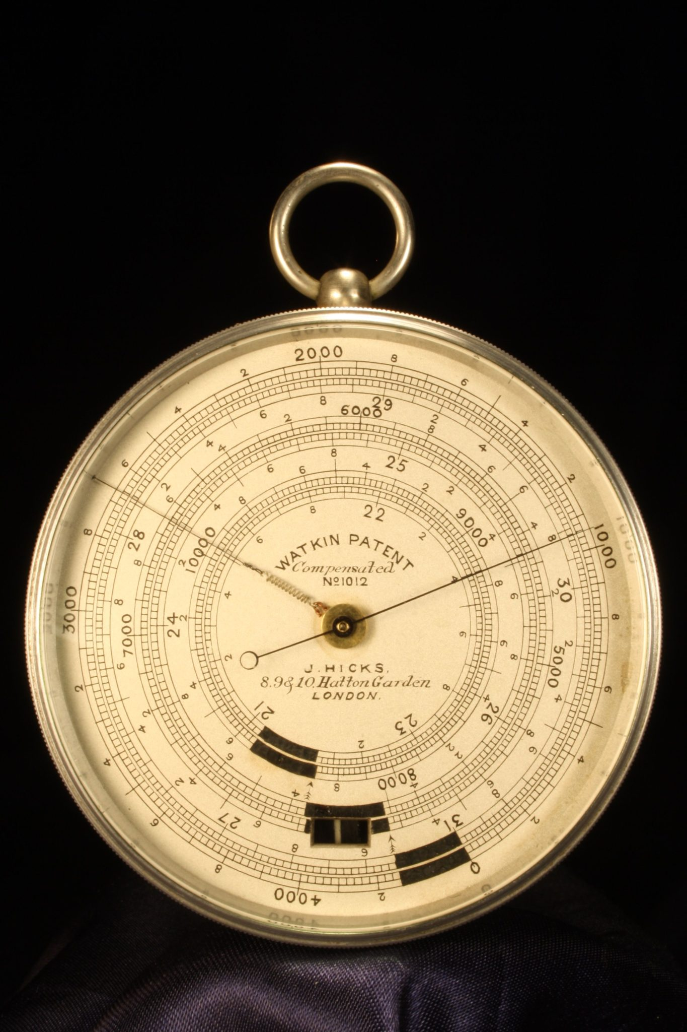 Image of Watkin Patent Hicks Pocket Barometer No 1012