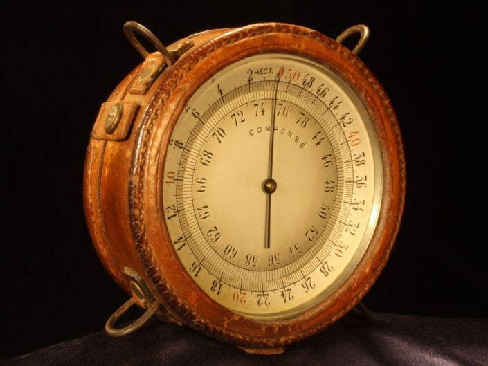 EARLY FRENCH AIRCRAFT ALTIMETER AFTER NAUDET c1916 - Sold