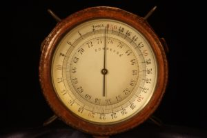 Image of French Aircraft Altimeter c1916